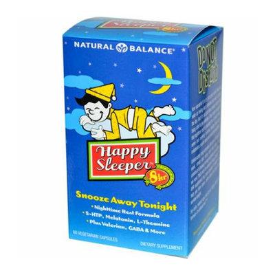 Natural Balance Happy Sleeper 60 Vegetarian Capsules