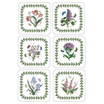 Portmeirion Coasters, Set of 6 Botanic Garden
