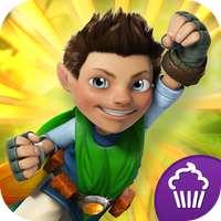 Cupcake Digital Tree Fu Tom Squizzle Quest
