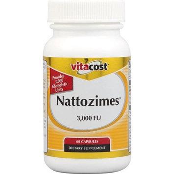Vitacost Brand Vitacost Nattozimes -- 3,000 FU - 60 Capsules