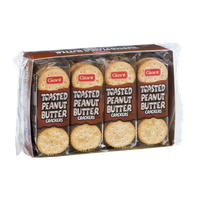 Giant Toasted Peanut Butter Crackers - 8 PK