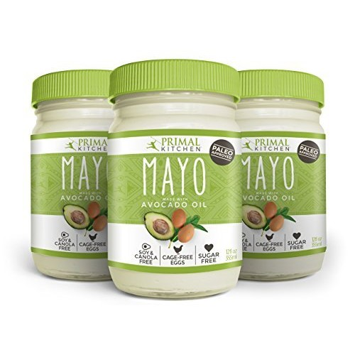 Primal Kitchen Mayo 3-Pack. Made with Avocado Oil (Avocado Oil)