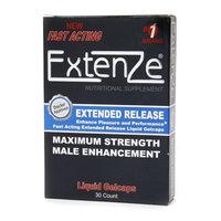 Extenze Maximum Strength Male Enhancement Nutritional Liquid Gelcaps