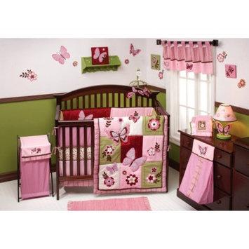 NOJO Emily 8pc Set - 8 Piece Infant Crib Set