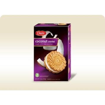Dare Foods Coconut Creme Cookie, 12.3 Ounce -- 12 per case.
