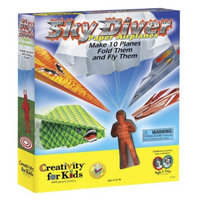 Faber-Castell Creativity for Kids Sky Diver Paper Airplanes Kit