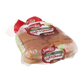 Sara Lee Heart Healthy Soft & Smooth Buns Hamburger Wheat - 8 CT