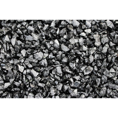 Cam Consumer Products, Inc. 10lb. Small Black Landscape Fire Glass