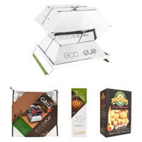 EcoQue Portable Stainless Grill Starter Pack - 15