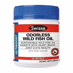Swisse Ultiboost Odorless Wild Fish Oil