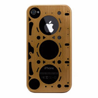 ID America IDC402-BLK Gasket iPhone 4S Case - 1 Pack, Gold, 1 ea