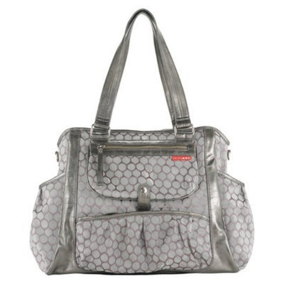 Skip Hop Day-to-Night Diaper Tote Pewter Dot by