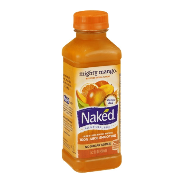 Naked 100% Juice Smoothie Mighty Mango
