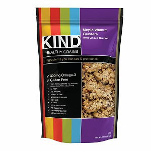 KIND Healthy Grains Maple Walnut Clusters with Chia & Quinoa