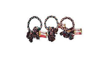 Kole Imports Bulk Buys Dog Pet Rope Ring Toy Pack Of 36
