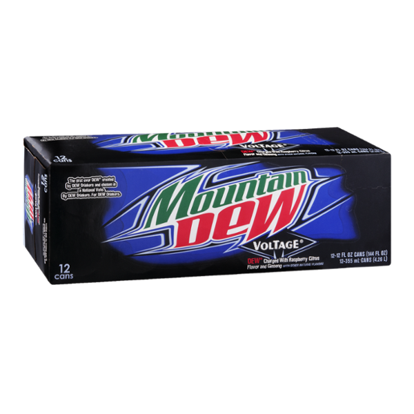 Mountain Dew Voltage Soda