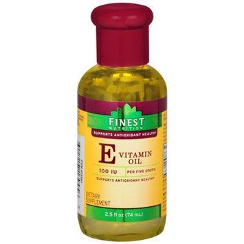 Finest Nutrition Vitamin E Oil