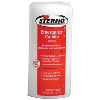 Sterno Group, The Sterno 6 Inch Column Emergency Candle 20402 by Sterno