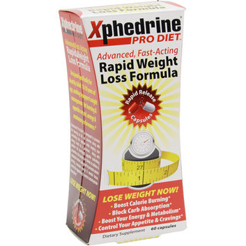 Xphedrine Pro Diet Rapid Weight Loss Formula Dietary Supplement Capsules