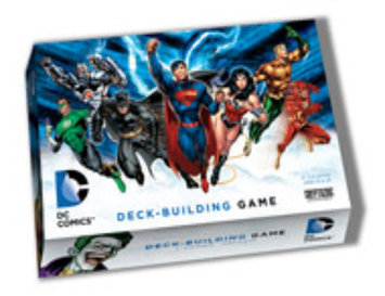 Cryptozoic DC Comics Deck Building Game