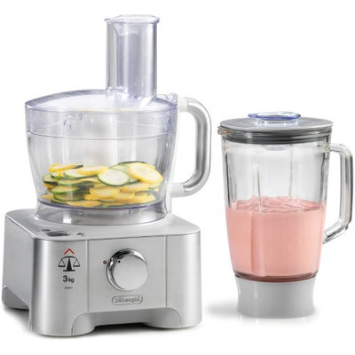 DeLonghi 12-Cup Food Processor With Blender