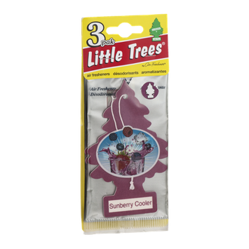Little Trees Air Fresheners Sunberry Cooler - 3 CT