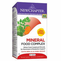 New Chapter Organics Mineral Food Complex