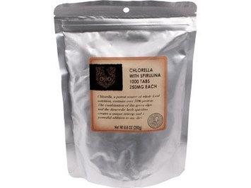 Ojio - Chlorella/Spirulina Tablets 250 mg. - 8.8 oz.