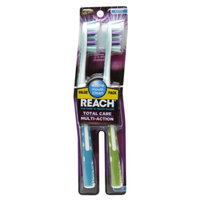 Reach Total Care Multi-Action Soft Value Pack Adult Toothbrushes, 2 ea