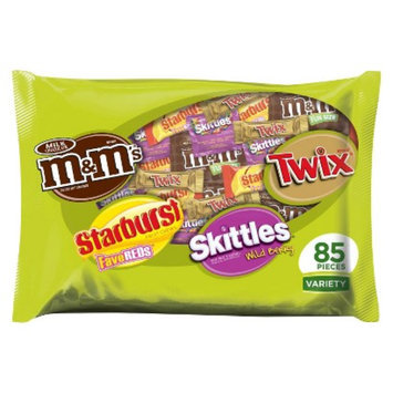 M&M's, Starburst, Skittles & Twix Fun Size Variety Bag