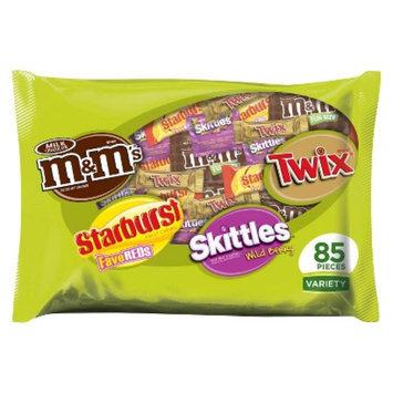 M&M's, Starburst, Skittles & Twix Fun Size Variety Bag