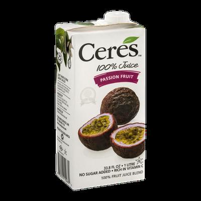 Ceres 100% Juice Passion Fruit