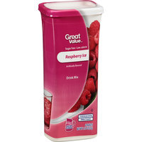 Great Value : Raspberry Ice Drink Mix