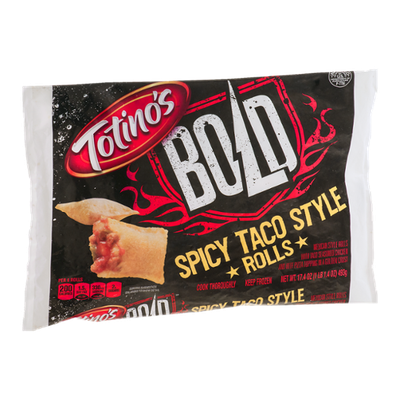 Totino's Bold Spicy Taco Style Rolls