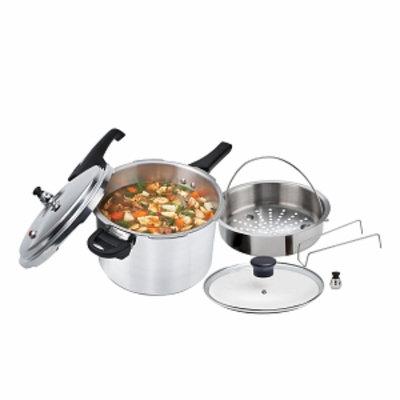 T-Fal Yl223la14 6-Quart Pressure Cooker, 1 ea