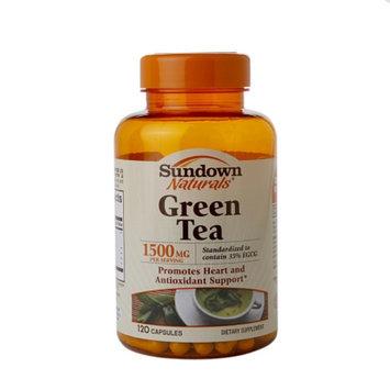 Sundown Naturals Green Tea 1500mg, Capsules