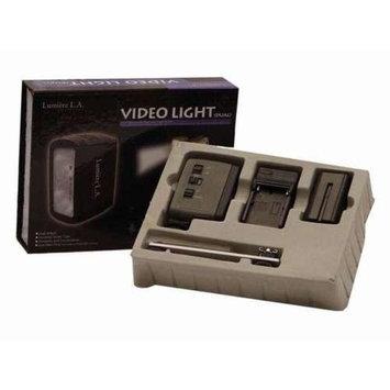 Lumiere L.A. Lumiere L60343 Camcorder Lighting Kit - 20W, Dual 3200K, 2x Batteries