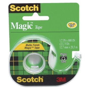 Scotch Magic Tape 1/2in x 800in