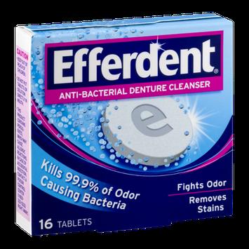 Efferdent Anti-Bacterial Denture Cleanser Tablets