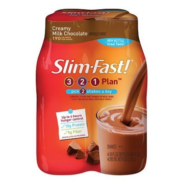 Slim-Fast Shakes 4 Pack Creamy Milk Chocolate