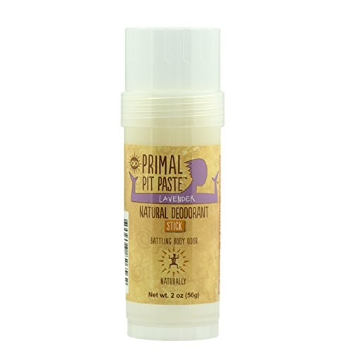 Primal Pit Paste Natural Deodorant Stick Lavender