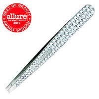 Tweezerman Luxe Edition Crystal Slant Tweezer & Stand