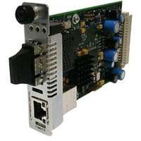 Transition Networks Networks Point System Slide-In-Module Media Converter