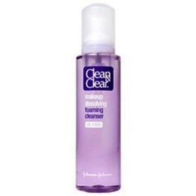Clean & Clear Makeup Dissolving Foaming Cleanser, Oil-Free 6 fl oz (177 ml)