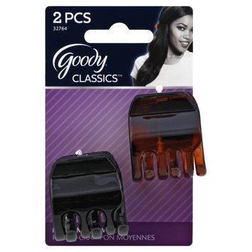 Goody Products Inc. Classics 1/2 inch Claw Clip, 2 CT
