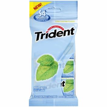 Trident Mint Bliss Sugar Free Gum