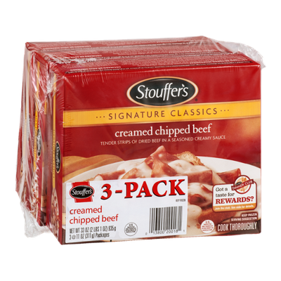 Stouffer's Signature Classics Creamed Chipped Beef - 3 CT
