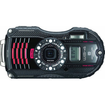 Pentax Ricoh WG-4 Compact Digital Camera with 16 Megapixels, 4x Optical Zoom and GPS Tagging