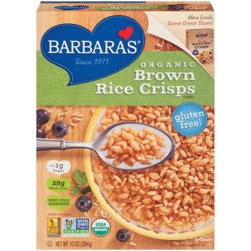 Brown Rice Crisps Cereal, Brown Rice Crisps, 10 OZ (Pack of 6)