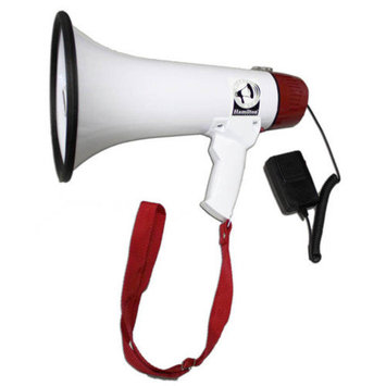 Buhl Mighty 15 Watt Megaphone with Voice Recording, External Microphone